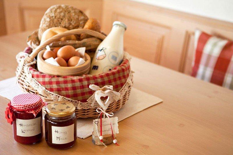 Frühstückskorb & Hofprodukte