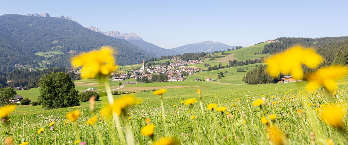 Umgebung & Lage - Naturidylle in Taisten Welsberg